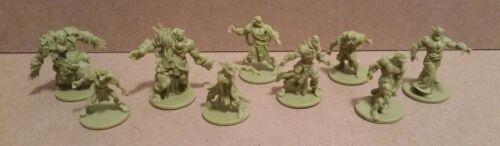 CMON Kickstarter Zombicide Green Horde Core Goblin Orc Zombies