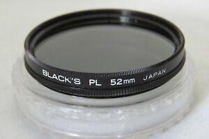 52mm Black's PL Polarizing Filter