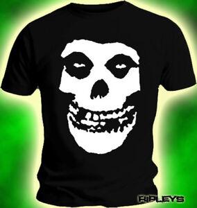 cde7b9ec8d91 Official T Shirt MISFITS CRIMSON Huge Skull BACK PRINT All Sizes   eBay