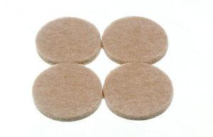 Neuf-4-par-Bande-Adhesif-Rond-Feutre-Patins-32MM-Diametre-4MM-Epais-Qte-2