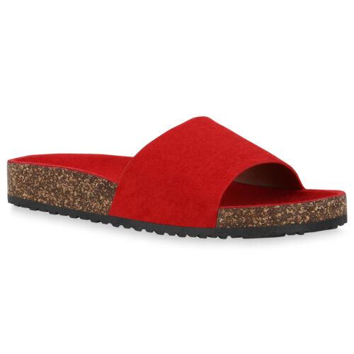 Damen Sandalen Pantoletten Sommer Hausschuhe Bequeme Schlappen 832944 Schuhe