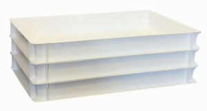 Enthousiaste 3 Pièces Pizzabox 60 X 40 X 7 Cm Blanc Eco Gastlando-afficher Le Titre D'origine Les Clients D'Abord