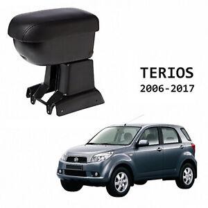 Armrest-Center-Console-For-Daihatsu-Terios-J200-F700-2006-16-Black-Leather-Lid