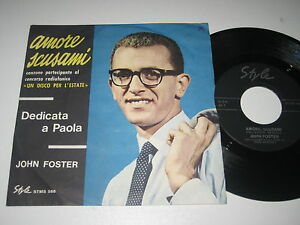 7-034-JOHN-FOSTER-MESCOLI-AMORE-SCUSAMI-Style-STMS-588