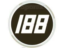 66811-54100 GENUINE VINTAGE KUBOTA BULL HEAD GRILLE BADGE HOOD ORNAMENT EMBLEM