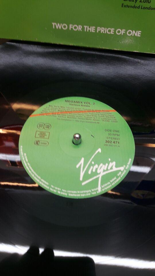 LP, Megamix vol 2, Lp'er med stygge tykke lange versioner