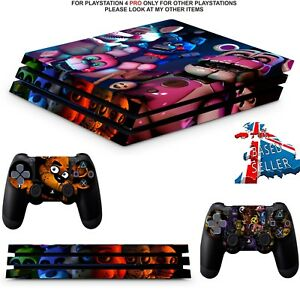 Faceplates, Decals & Stickers Fast Deliver Sony Ps4 Playstation 4 Skin Design Sticker Screen Protector Set Canada Motif