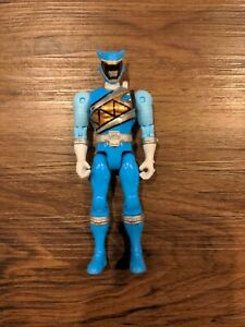 BAN DAI Power Rangers Dino Aqua Ranger Figure Action Hero Toy MMPR Super Charge