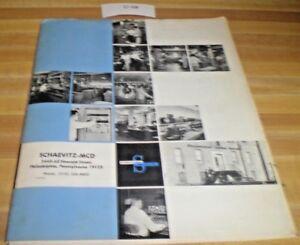 Vintage-Schaevitz-MCD-Oscilloscope-Catalog-Fliers