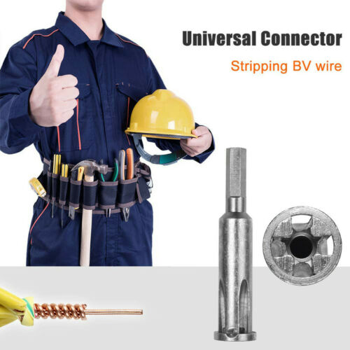 5 Hole Automatic Twisting Wire Stripping Doubling Practical Tools Power Useful