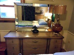 Details about VTG 1960s Mid Century Modern Bassett Furniture Full Size  Bedroom Set
