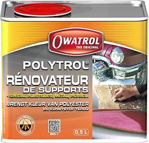 Owatrol Polytrol Colour Restorer 500 Ml 0 5 Liter Plastic