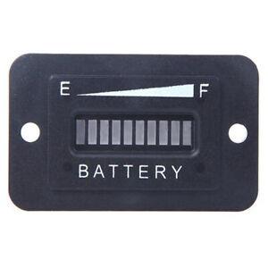 Batteriestatus-Ladeanzeige-Monitor-Messgeraet-LED-Digital-12V-amp-24V-W5H1