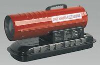 Sealey Space Warmer Paraffin, Kerosene & Diesel Heater 45,000btu/hr Without W...