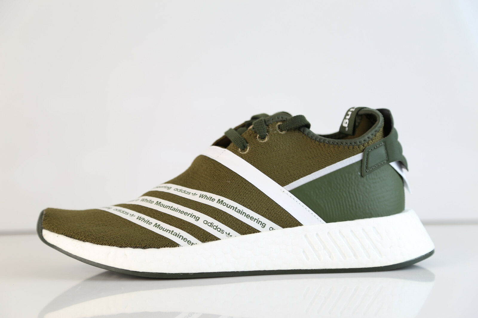 Adidas X White Mountaineering WM NMD R2 PK Boost Olive CG3649 9-11.5 rf ultra