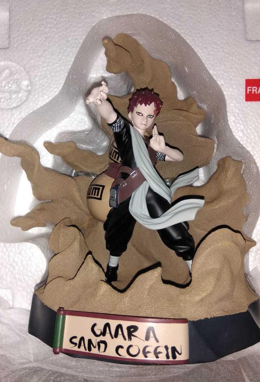Naruto Gaara Sand Coffin Statue Toynami 1213/2000 NUEVO Figura resina
