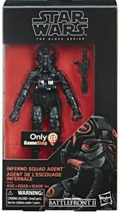 """Inferno Squad Agent 6/"""" The Black Series STAR WARS Game Stop Exclusive MIB"""