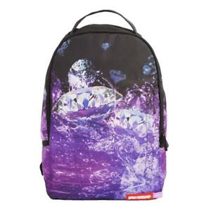SPRAYGROUND PURPLE DIAMOND SIZZURP  URBAN BACKPACK LAPTOP