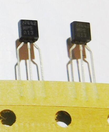 TO-92 5 National Semi MPSA13 NPN Darlington Transistor Tape//Reel