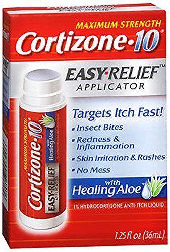 Cortizone 10 Hidrocortisona Antipicores Easy Alivio Aplicador 37ml Each