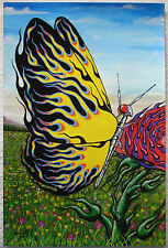 Original Prison Art  'Kiliart' Hot Rod Butterfly