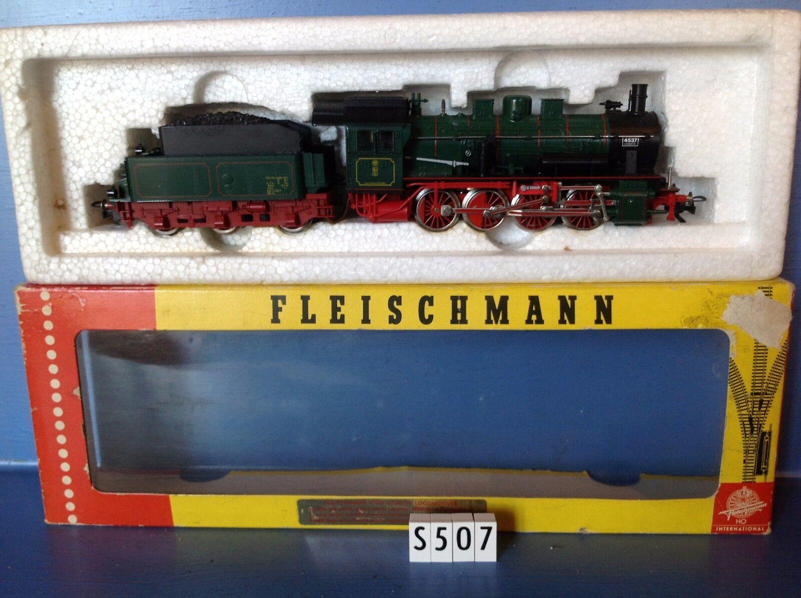 (S507) locomotive Fleishuomo + tender ref 4147 en boite Jouef, ech   Ho