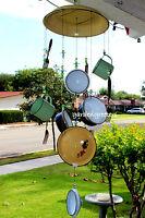 Windchimes Hanging Decoration Metal Enamel