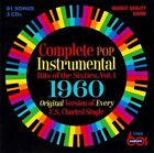 Complete Pop Instrumental Hits of the Sixties, Vol. 1: 1960 [Box] by Various Artists (CD, Jun-2011, 3 Discs, Eric)