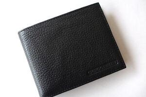 9940e862929b Giorgio Armani Men s Bi-fold Genuine Leather Wallet.. 463...cervo ...