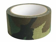 Max Fuchs Camo Camouflage Fabric Tape High Strength Extra Grip 10m Tough DPM