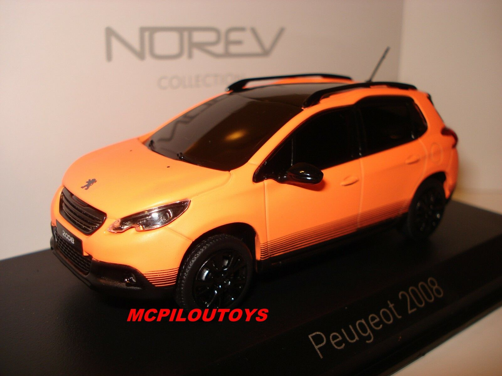NOREV PEUGEOT 2008 MATT Orange SALON DE GENEVE 2013 au 1 43°