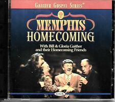 """MEMPHIS HOMECOMING""....BILL & GLORIA GAITHER & HOMECOMING FRIENDS.....GOSPEL CD"