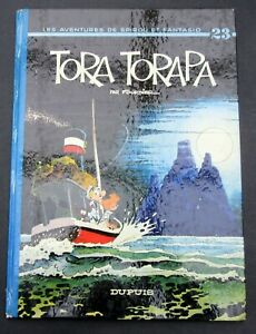 SPIROU-TORA-TORAPA-FOURNIER-NO-23-DUPUIS-EO-1973-BON-ETAT