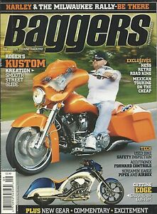 Details about Baggers Motorcycle Magazine Roger Kustom Ness Retro Road King  Used Bikes Airbox