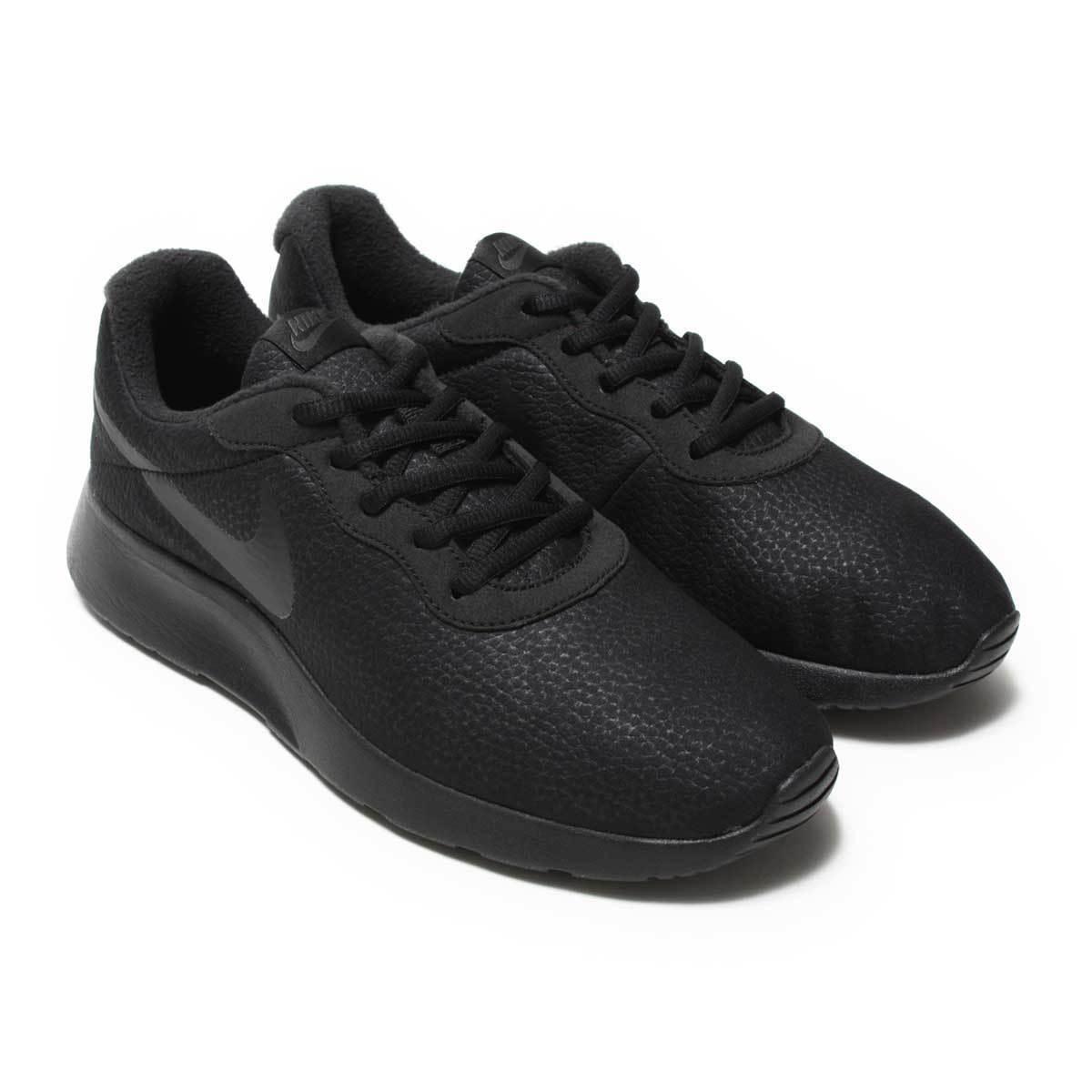 Men's Nike Tanjun Premium Running Shoes Black New In Box Sz 8-12 876899-005