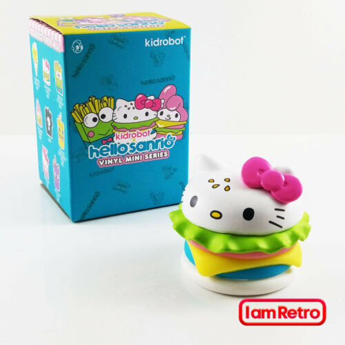"Hello Sanrio Mini Series 3/"" Vinyl Fig by Kidrobot Hello Kitty Burger"