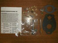 Allis Chalmers W Wc Wd Wf Carburetor Kit W/ Marvel-scheble 0091
