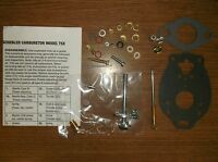 Allis Chalmers W Wc Wd Wf Carburetor Kit W/ Marvel-scheble 0091