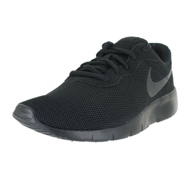 Black White Youth Size Unisex Running Shoes New In Box Nike Tanjun GS