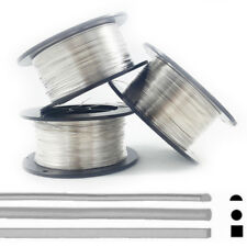925 Sterling Silver wire Dead Soft Round-1/2 Round-Square 22 24 26 28 30 Gauge