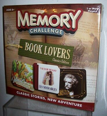 MEMORY CHALLENGE BOOK LOVERS CLASSIC EDITIONS GAME