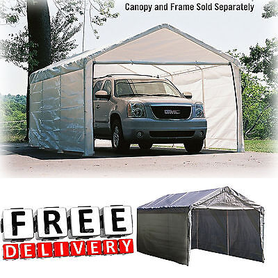 Canopy Enclosure Kit 12x20' Shelter Portable UV Protection ...