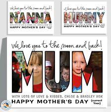 FIRST MOTHERS DAY gift personalised A4 laminated print MUM NONNA OPA NANNA MUMMY