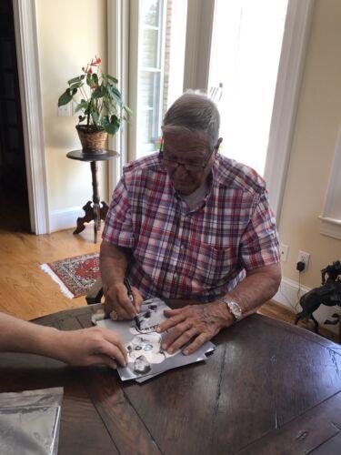 Gene Stallings Autographed signed Alabama Crimson Tide 8X10 Photo Gdst Holo B