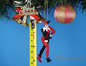 Joker Christmas Ornament.Details About Dc Comics Batman Villain Joker Harley Quinn Decoration Xmas Ornament Decor 1361g