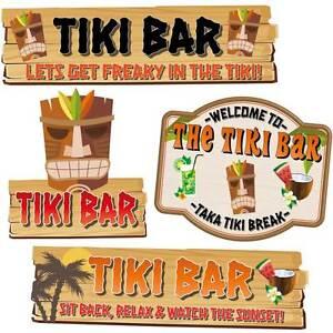 Image Is Loading Tiki Bar Funny Joke Pub Sign Choice Or