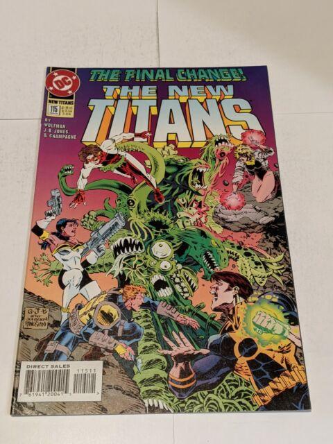 The New Titans #115 November 1994 DC Comics Wolfman Jones Champagne