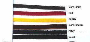 5-yds-velvet-ribbon-7-mm-1-4-034-choose-color