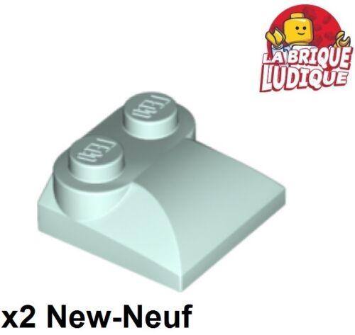 Baukästen & Konstruktion LEGO Bau- & Konstruktionsspielzeug Lego 2x Ziegel geändert 2x3x2/3 gebogen Steigung light aqua Blau 47457 neu