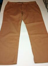 Mens Burlap Brown Iron Co Patriot Classic Straight Leg Pant 34X30